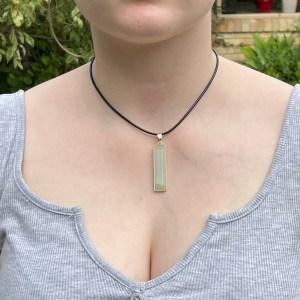 CJ017 example of amazonite pendant