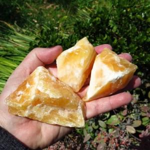 orange calcite roughs