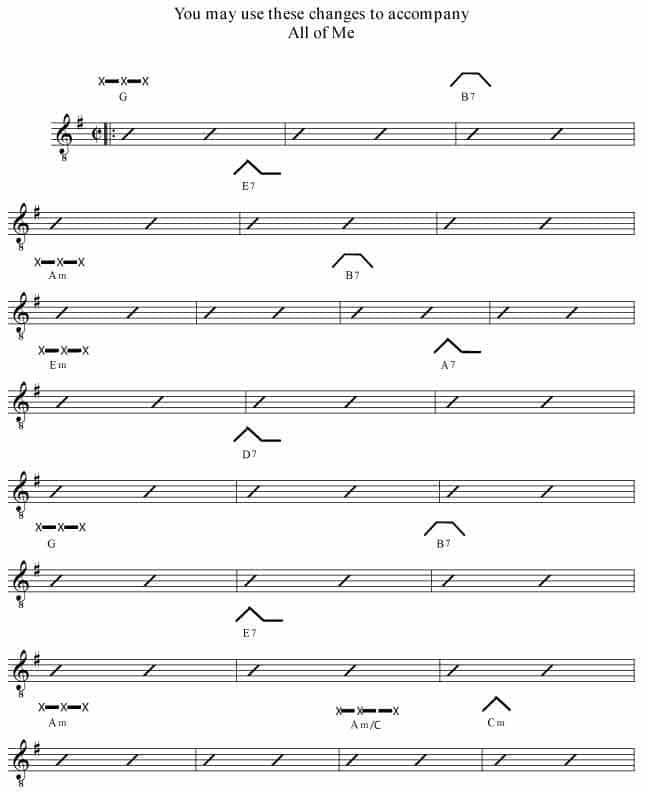 Chord Change Formula 7l The Rockmaster System