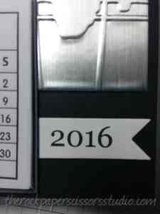 Calendar Easel Card