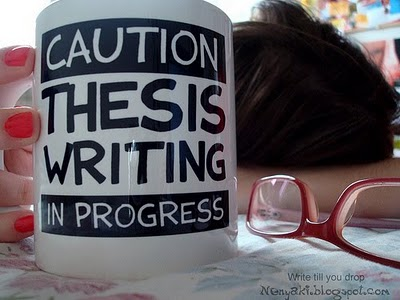I Can't Write My Thesis!