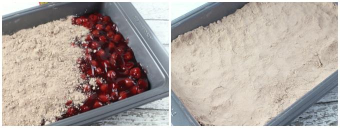 Cherry Chocolate Dump Cake - Step 2