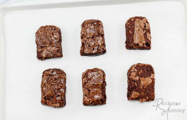 Brownie Popsicles Recipe - Step 1 - The Rockstar Mommy