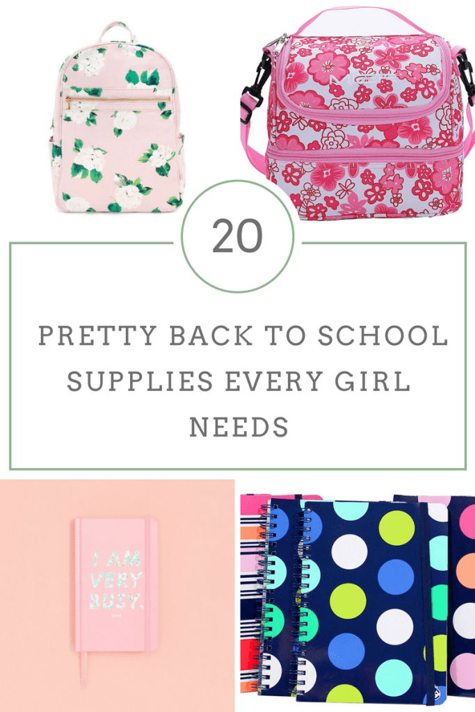 20 Pretty Back to School Supplies - The Rockstar Mommy