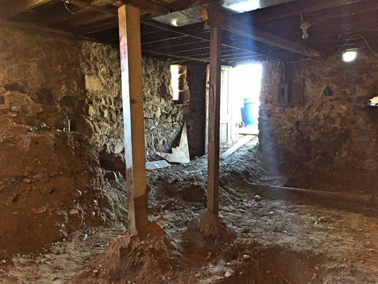 Basement Dig on the Marmalade Crib - The Rockwood Remodel