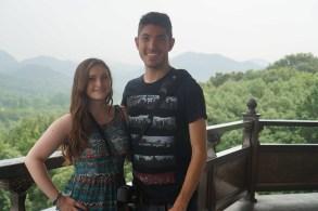 Top of the Leifeng Pagoda