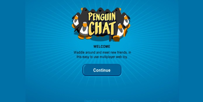 penguin chat home screen