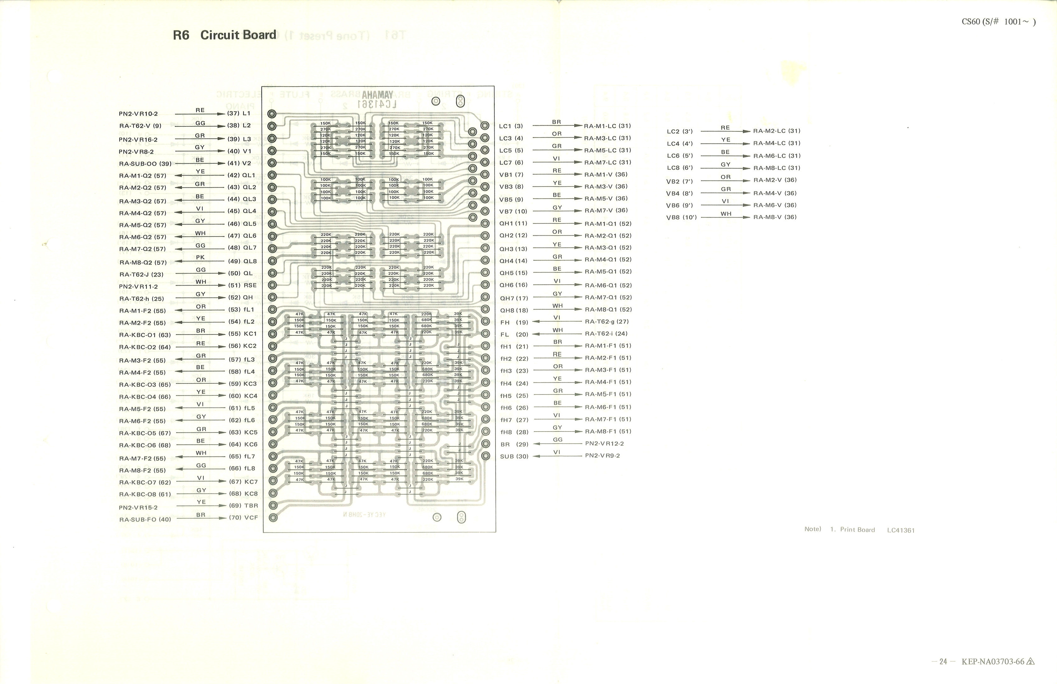 Yamaha R1 Wiring Diagram
