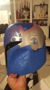Sabine Wren helmet build mask side