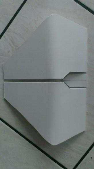 Sabine Wren helmet build chest form