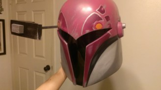 Sabine Wren helmet build RF down