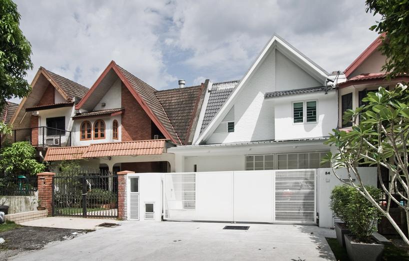 intermediate terrace house