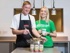 Soup-erb fundraising drive to help Macmillan