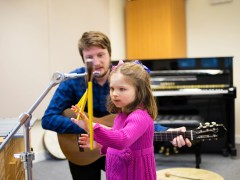 Charity reveals life-changing power of music