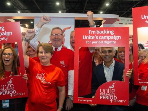 Unite Leads Period Dignity Campaign