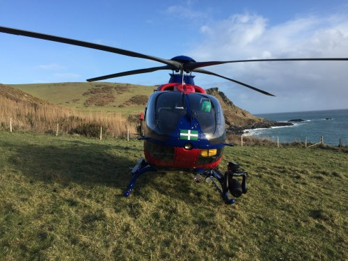 Busiest year ever for Devon's Air Ambulances