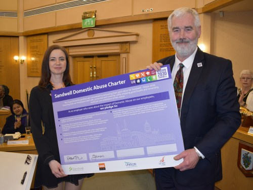 Council joins fight against domestic abuse