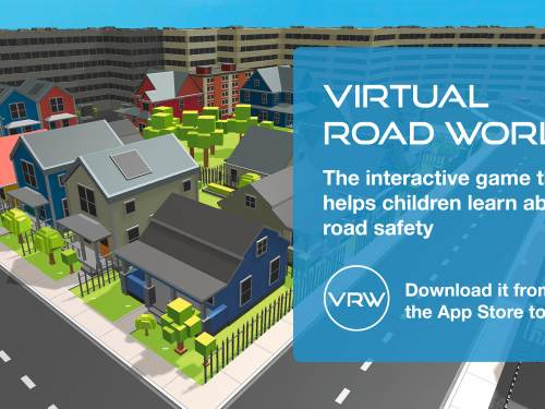New app teaches kids road safety