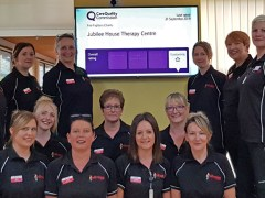 The Fire Fighters Charity's nursing team rated 'Outstanding'