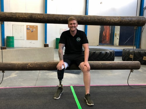 Amputee former commando joins Challenge 4 Change as instructor