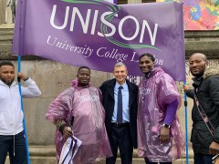 Low-paid workers celebrate union-brokered pay deal