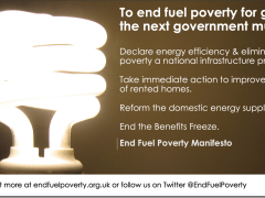Coalition sets out action to end fuel poverty