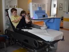 New entertainment system brings welcome distraction to children's ward