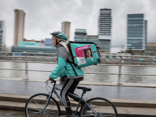 Deliveroo and Missing People join forces