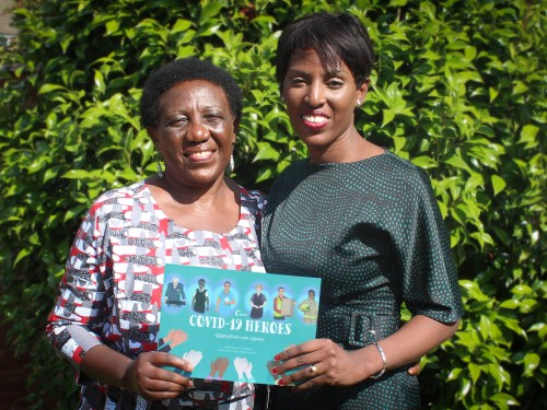 Mum and daughter produce book to support NHS mental health charities