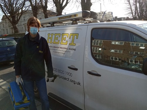 Help for North Londoners living in cold homes