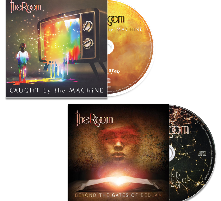 2 CD Bundle – Caught by the Machine & Bedlam