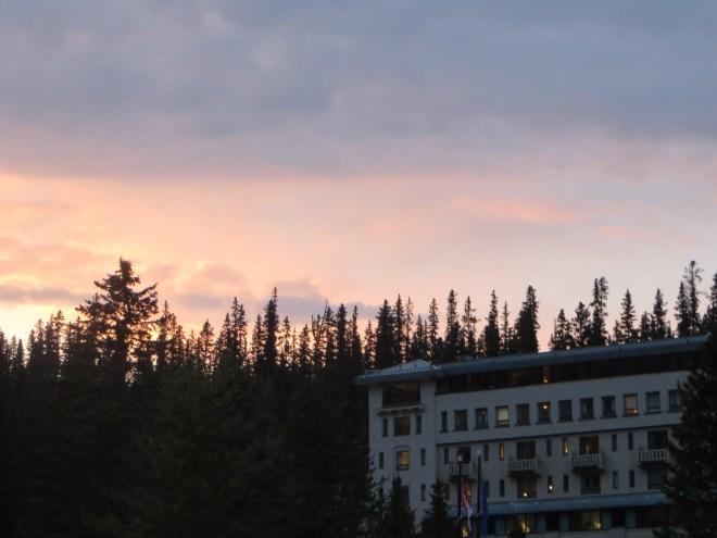 Lake Louise Sunset