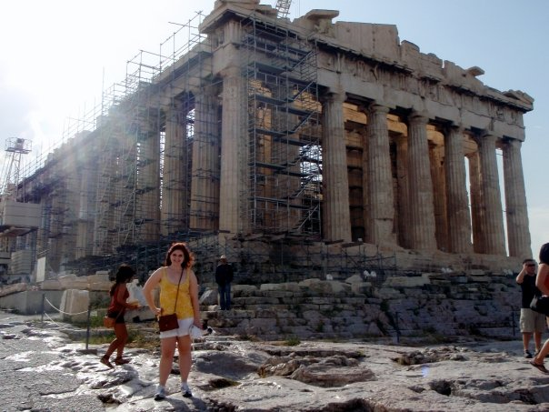Parthenon in Athens | The Rose Table