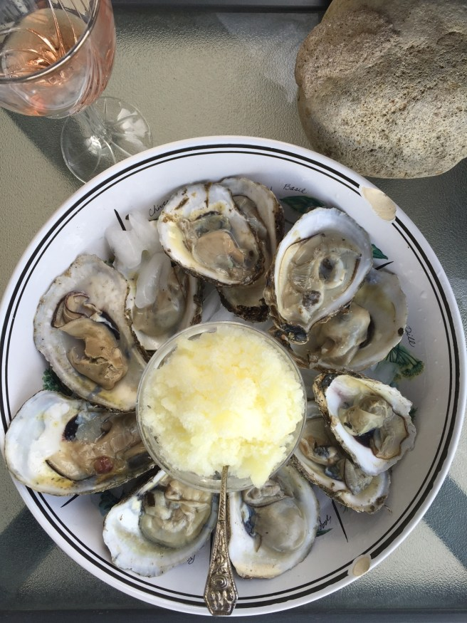 Fresh Oysters with Lemon Ice   The Rose Table