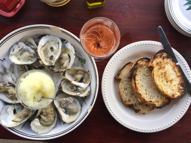 Fresh Oysters with Lemon Ice | The Rose Table
