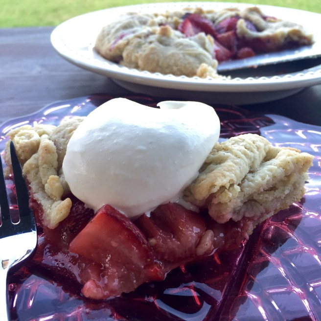 Strawberry Galette with Vanilla Bean Crust | The Rose Table