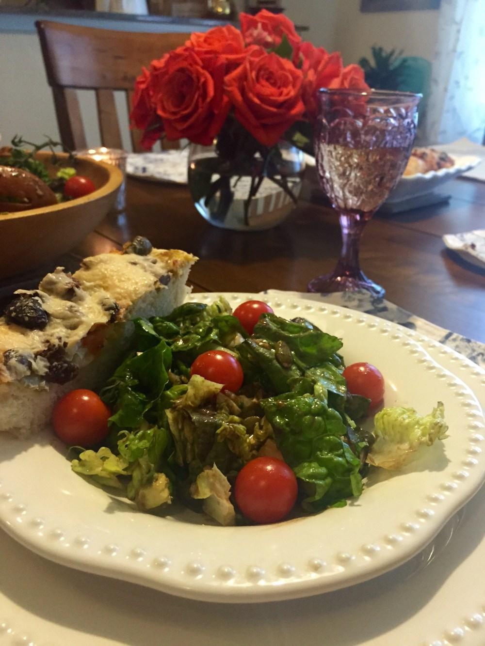 Burrata Avocado Salad | The Rose Table