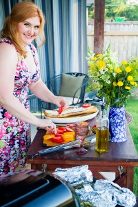 Heirloom tomato bruschetta | The Rose Table