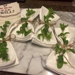 Napkins ready to go | The Rose Table