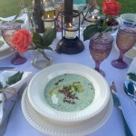 Chilled Cucumber Soup | The Rose Table