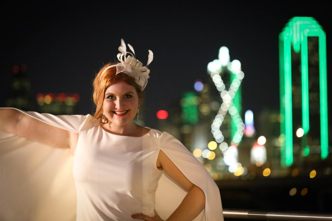 Katie-Rose Watson at DIner en Blanc Dallas