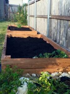 New Cedar Raised Bed Garden | The Rose Table