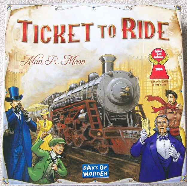 Ticket to Ride | The Rose Table