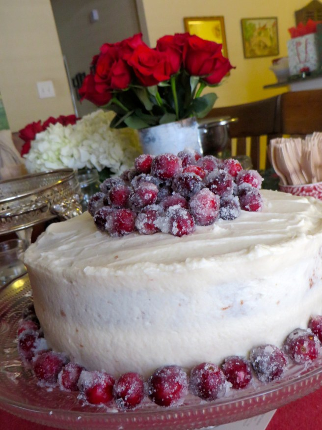 Fiori di Sicilia Cranberry Cake | The Rose Table