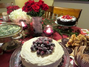 Christmas Party Food | The Rose Table