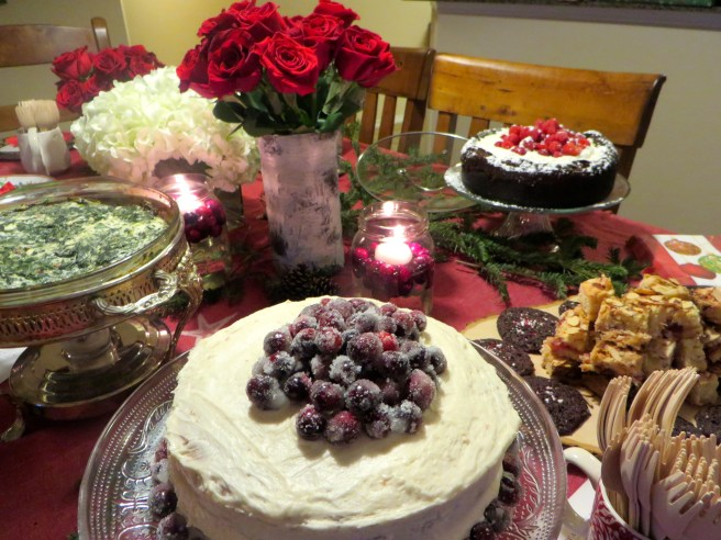 Christmas Party Food   The Rose Table