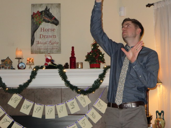 Christmas Charades | the Rose Table