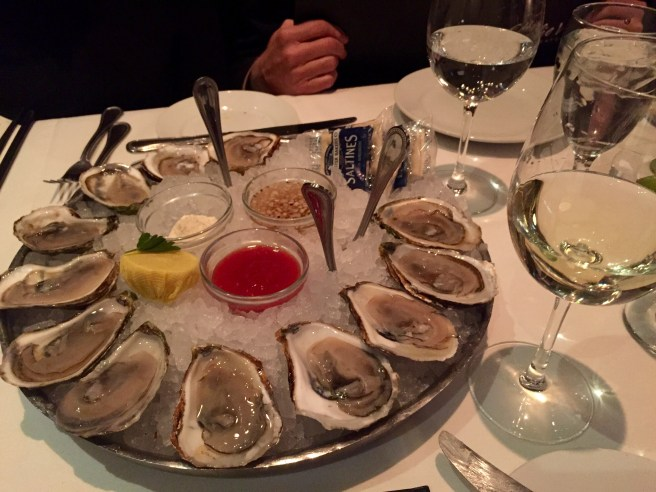 Eddie V's Review: Oysters   The Rose Table