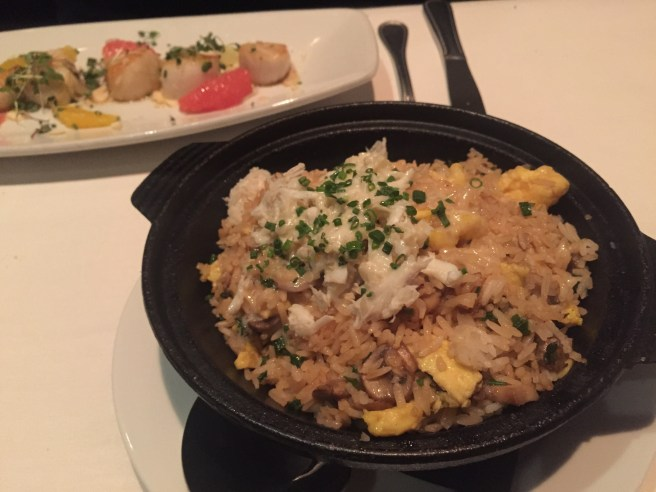 Eddie V's Review: Crab Fried Rice   The Rose Table