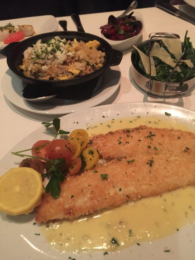Eddie V's Review: North Atlantic Lemon Sole   The Rose Table